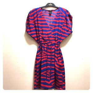 ❤️H&M drawstring striped dress❤️